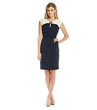 Calvin Klein Luxstretch Keyhole Lock Day Dress