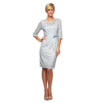 Alex Evenings® Lace Dress With Sequins