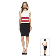 Lauren Ralph Lauren Four-Tone Sheath