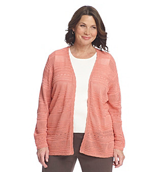 Alfred Dunner® Plus Size Cardigan