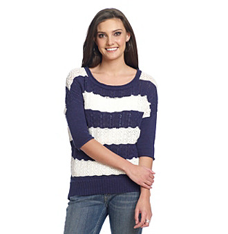 Jessica Simpson Admire Striped Sweater