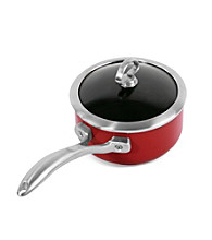 Chantal® Chili Red Copper Fusion™ Sauce Pan with Lid