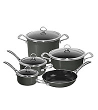 Chantal® 9-pc. Onyx Enamel with Coppper Fusion™ Cookware Set