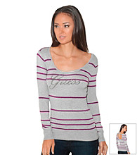 Guess Enchanted Scoop Stripe Sweater