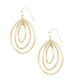 Anne Klein® Goldtone Drop Earrings