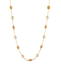 Anne Klein® Goldtone Illusion Necklace