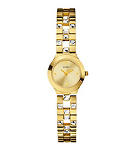 Guess Gold Feminine Sparkle & Polish Watch