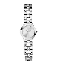Guess Silver Feminine Sparkle & Polish Watch