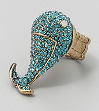 Erica Lyons® Blue Stretch Ring