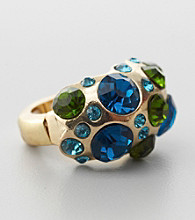 Erica Lyons® Blue Multi Stretch Ring