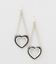 Guess Heart Earrings