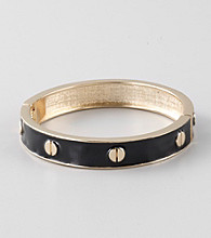 L&J Accessories Jet Epoxy Bangle Bracelet