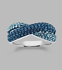 Impressions® Blue Crystal Ring