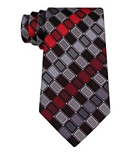 Kenneth Cole® Men's Foxhound Grid Tie