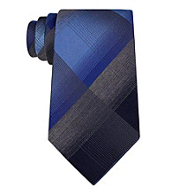 Kenneth Cole® Men's Rottweiler Plaid Tie