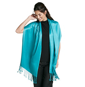 Collection 18 Satin Pashmina Wrap