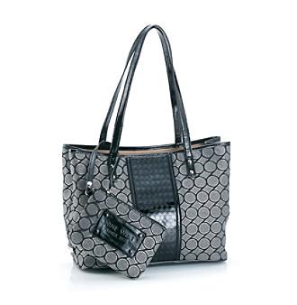Nine West® Black/Gray Can't Stop Shopper