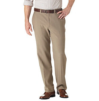 Haggar® Men's Big & Tall Flat Front Repreve Pants