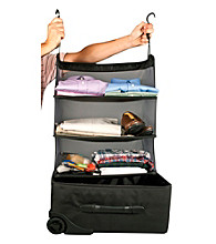Travelon® Packable Black Shelves
