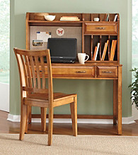 Liberty Furniture Hampton Bay Oak Desk Collection