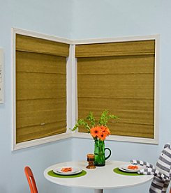 Jamaican Antique Gold Mag Roman Shade by Chicology®