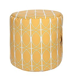 Chic Designs Round Bright Pouf
