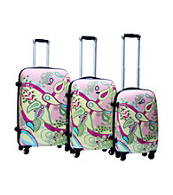 CalPak Woodstock 3-pc. Hardsided Luggage Set