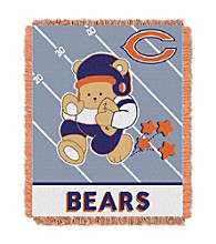 Chicago Bears Baby Teddy Bear Throw