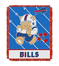 Buffalo Bills Baby Teddy Bear Throw