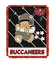 Tampa Bay Buccaneers Baby Teddy Bear Throw