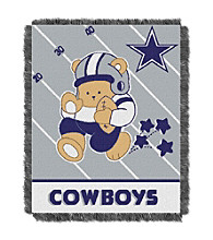Dallas Cowboys Baby Teddy Bear Throw