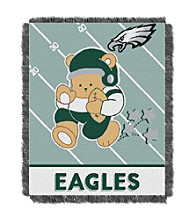 Philadelphia Eagles Baby Teddy Bear Throw