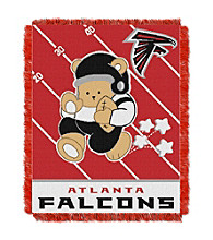 Atlanta Falcons Baby Teddy Bear Throw