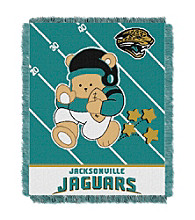 Jacksonville Jaguars Baby Teddy Bear Throw
