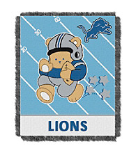 Detroit Lions Baby Teddy Bear Throw