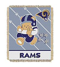 St. Louis Rams Baby Teddy Bear Throw