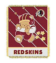 Washington Redskins Baby Teddy Bear Throw
