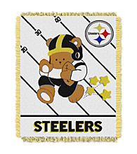 Pittsburgh Steelers Baby Teddy Bear Throw