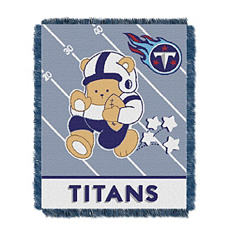 Tennessee Titans Baby Teddy Bear Throw