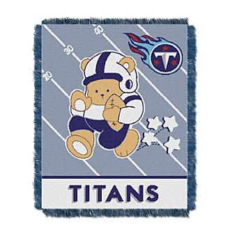 Tennessee Titans Baby Teddy Bear Throw