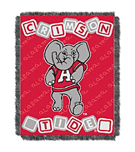 University of Alabama Baby College Throw