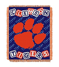 Clemson University Baby College Throw