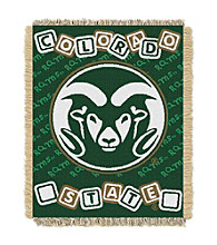 Colorado State University Baby College Throw