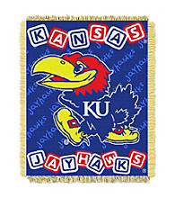 University of Kansas Baby College Throw
