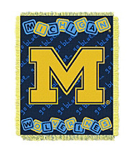 Universityof Michigan Baby College Throw