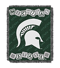 Michigan State University Baby College Throw