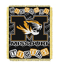 University of Missouri Baby College Throw