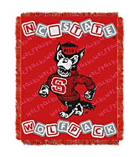North Carolina State University Baby College Throw