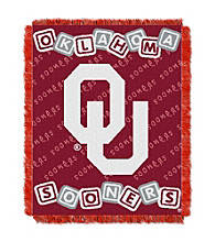 Oklahoma University Baby College Throw