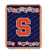 Syracuse University Baby College Throw